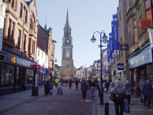 Falkirk High Street, Stirlingshire copyright Kevin Rae
