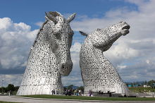 Falkirk, The Kelpies at Helix Park copyright Steven Straiton